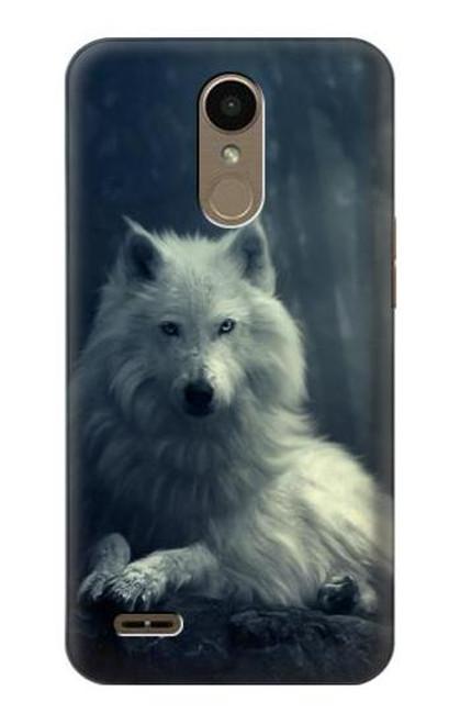 S1516 White Wolf Case For LG K10 (2018), LG K30