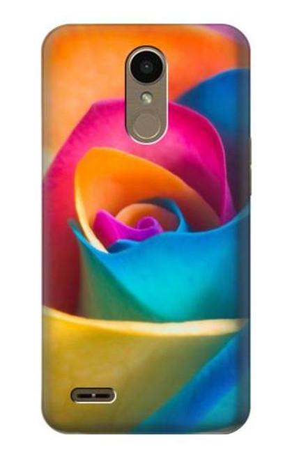 S1671 Rainbow Colorful Rose Case For LG K10 (2018), LG K30