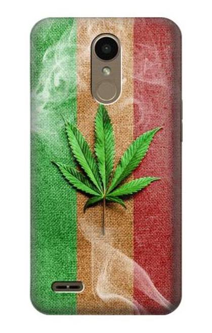 S2109 Marijuana Rasta Flag Case For LG K10 (2018), LG K30
