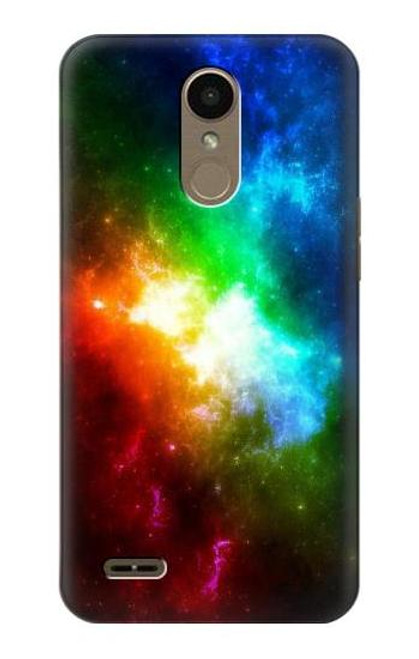 S2312 Colorful Rainbow Space Galaxy Case For LG K10 (2018), LG K30