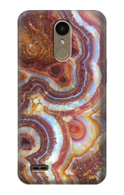 S3034 Colored Marble Texture Printed Case For LG K10 (2018), LG K30