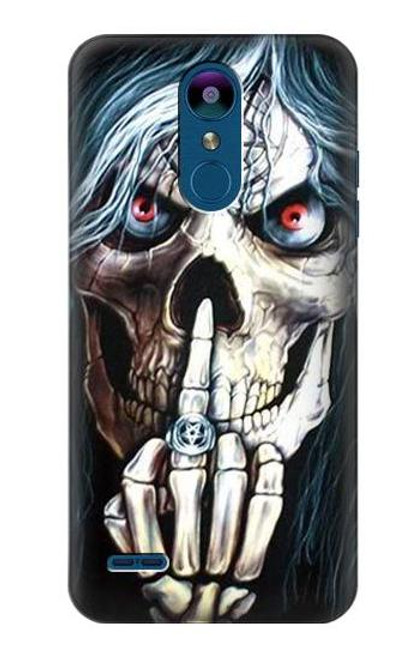 S0222 Skull Pentagram Case For LG K8 (2018)