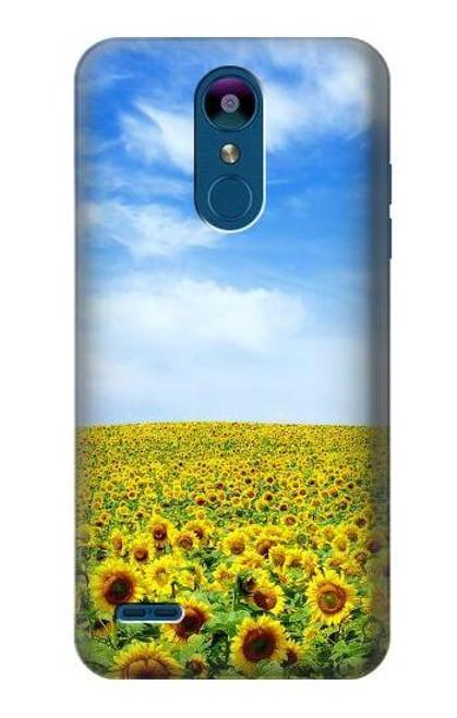 S0232 Sunflower Case For LG K8 (2018), LG Aristo 2, LG Tribute Dynasty, LG Zone 4, LG Fortune 2, LG K8+