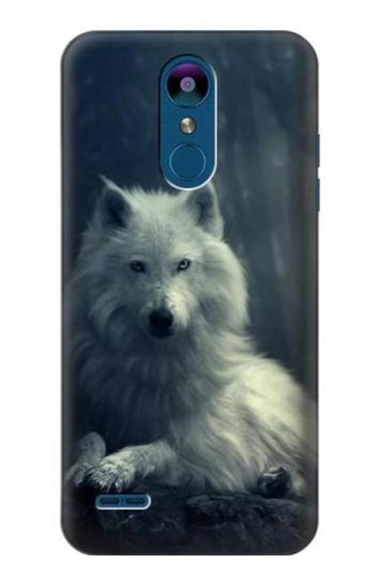 S1516 White Wolf Case For LG K8 (2018)