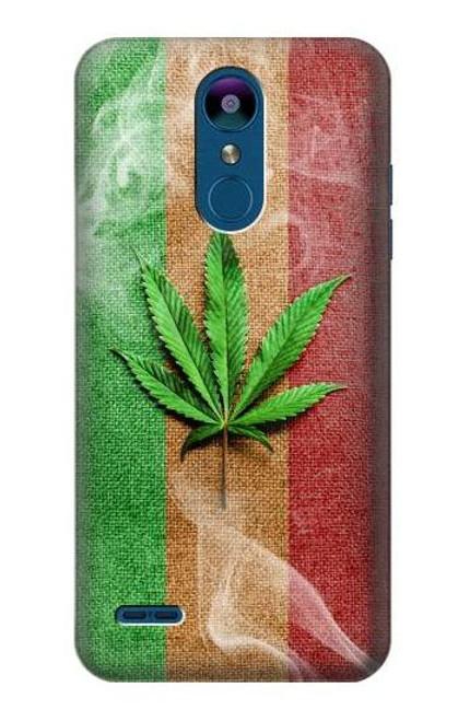 S2109 Marijuana Rasta Flag Case For LG K8 (2018)