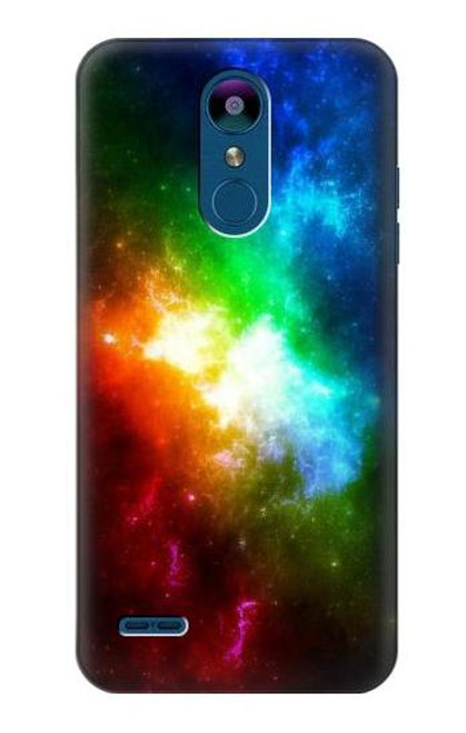 S2312 Colorful Rainbow Space Galaxy Case For LG K8 (2018), LG Aristo 2, LG Tribute Dynasty, LG Zone 4, LG Fortune 2, LG K8+