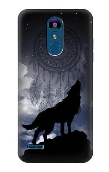S3011 Dream Catcher Wolf Howling Case For LG K8 (2018)