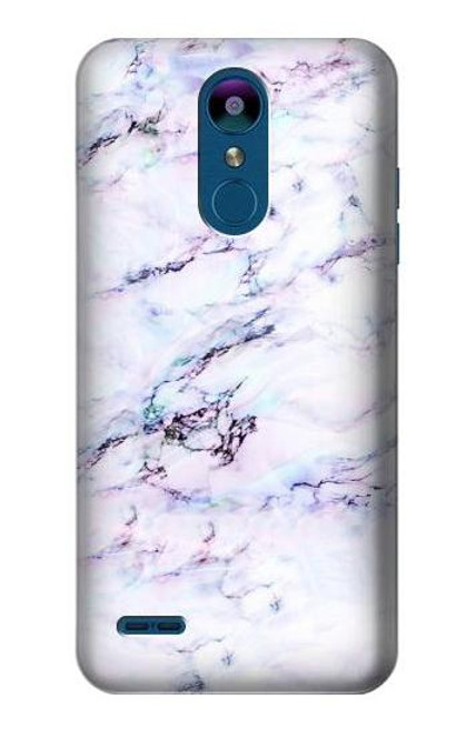 S3215 Seamless Pink Marble Case For LG K8 (2018)