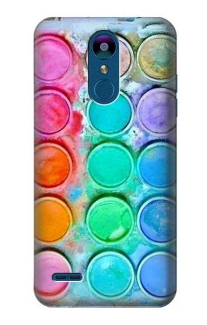 S3235 Watercolor Mixing Case For LG K8 (2018)