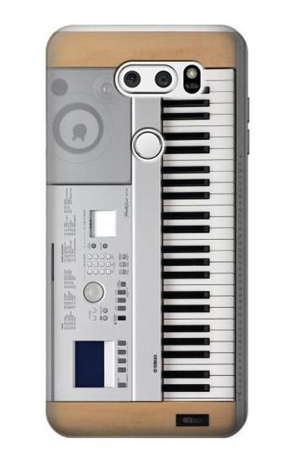 S0891 Keyboard Digital Piano Case For LG V30, LG V30 Plus, LG V30S ThinQ, LG V35, LG V35 ThinQ