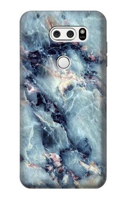 S2689 Blue Marble Texture Graphic Printed Case For LG V30, LG V30 Plus, LG V30S ThinQ, LG V35, LG V35 ThinQ
