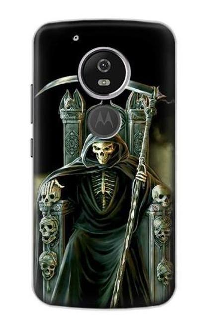 S1024 Grim Reaper Skeleton King Case For Motorola Moto G6 Play, Moto G6 Forge, Moto E5