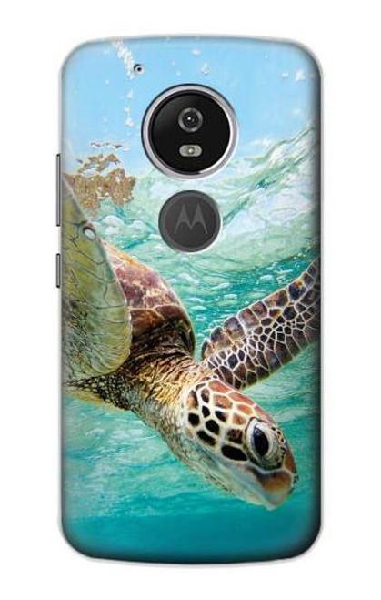 S1377 Ocean Sea Turtle Case For Motorola Moto G6 Play, Moto G6 Forge, Moto E5