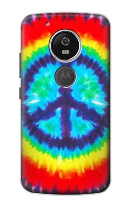 S1870 Tie Dye Peace Case For Motorola Moto G6 Play, Moto G6 Forge, Moto E5