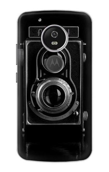 S1979 Vintage Camera Case For Motorola Moto G6 Play, Moto G6 Forge, Moto E5