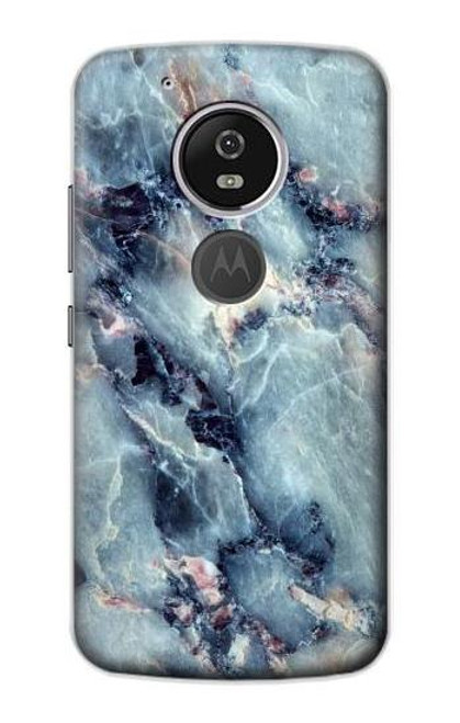 S2689 Blue Marble Texture Graphic Printed Case For Motorola Moto G6 Play, Moto G6 Forge, Moto E5