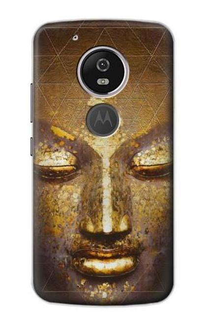 S3189 Magical Yantra Buddha Face Case For Motorola Moto G6 Play, Moto G6 Forge, Moto E5