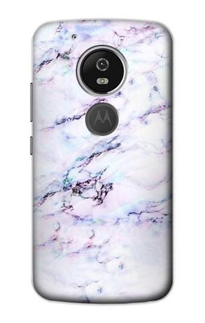 S3215 Seamless Pink Marble Case For Motorola Moto G6 Play, Moto G6 Forge, Moto E5