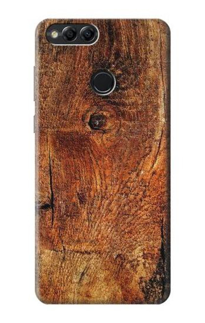 S1140 Wood Skin Graphic Case For Huawei Honor 7x, Huawei Mate SE