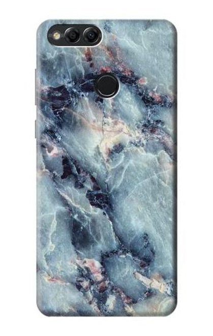 S2689 Blue Marble Texture Graphic Printed Case For Huawei Honor 7x, Huawei Mate SE