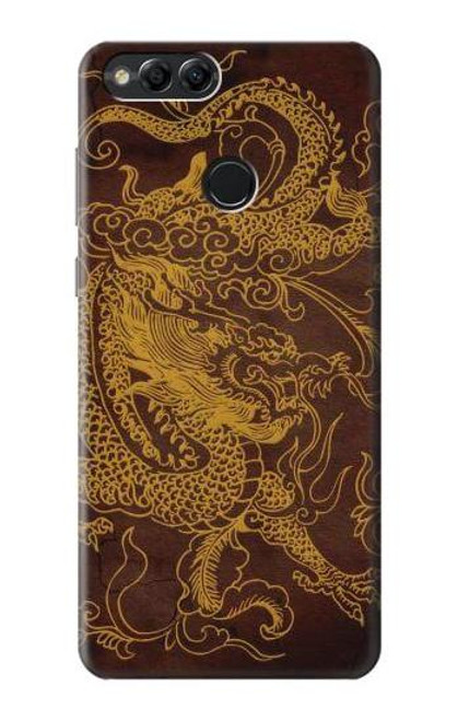 S2911 Chinese Dragon Case For Huawei Honor 7x, Huawei Mate SE