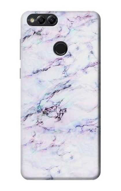 S3215 Seamless Pink Marble Case For Huawei Honor 7x, Huawei Mate SE