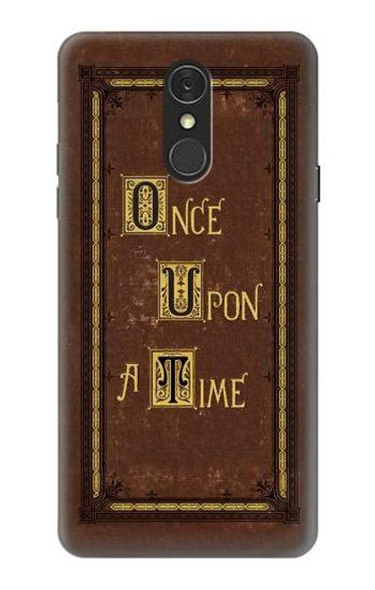 S2824 Once Upon a Time Book Cover Case For LG Q7
