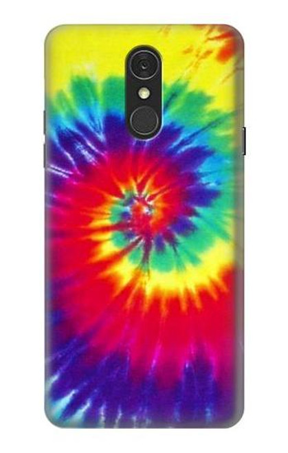 S2884 Tie Dye Swirl Color Case For LG Q7