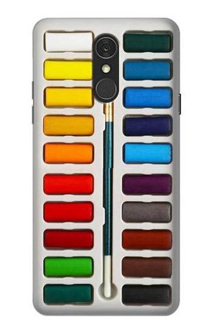 S3243 Watercolor Paint Set Case For LG Q7