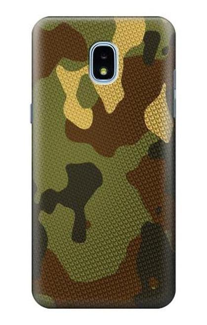 S1602 Camo Camouflage Graphic Printed Case For Samsung Galaxy J3 (2018), J3 Star, J3 V 3rd Gen, J3 Orbit, J3 Achieve, Express Prime 3, Amp Prime 3