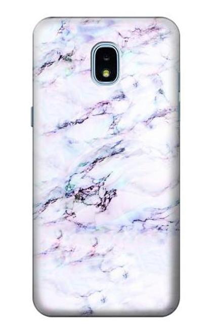 S3215 Seamless Pink Marble Case For Samsung Galaxy J3 (2018), J3 Star, J3 V 3rd Gen, J3 Orbit, J3 Achieve, Express Prime 3, Amp Prime 3
