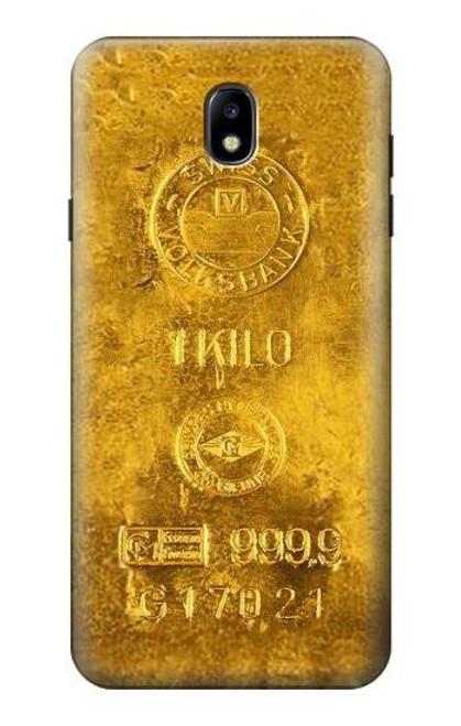 S2618 One Kilo Gold Bar Case For Samsung Galaxy J7 (2018), J7 Aero, J7 Top, J7 Aura, J7 Crown, J7 Refine, J7 Eon, J7 V 2nd Gen, J7 Star