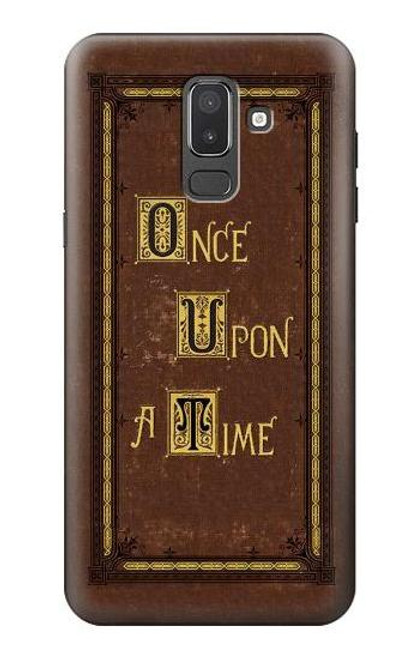 S2824 Once Upon a Time Book Cover Case For Samsung Galaxy J8 (2018)