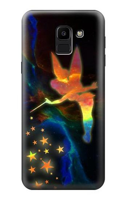 S2583 Tinkerbell Magic Sparkle Case For Samsung Galaxy J6 (2018)