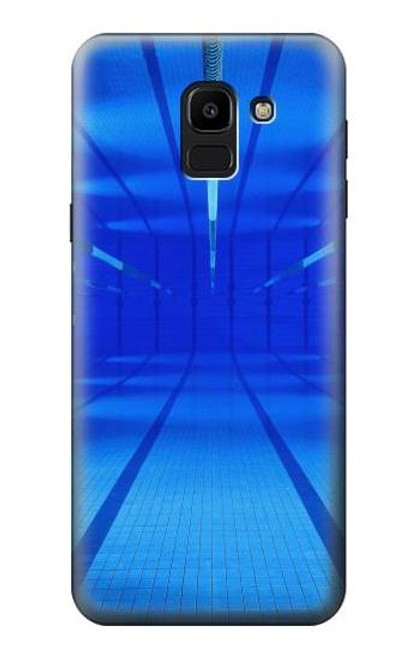 S2787 Swimming Pool Under Water Case For Samsung Galaxy J6 (2018)