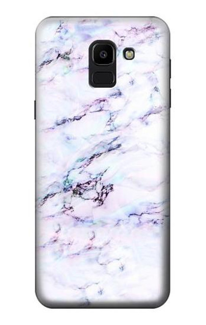 S3215 Seamless Pink Marble Case For Samsung Galaxy J6 (2018)