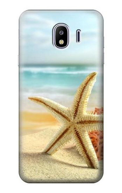 S1117 Starfish on the Beach Case For Samsung Galaxy J4 (2018)