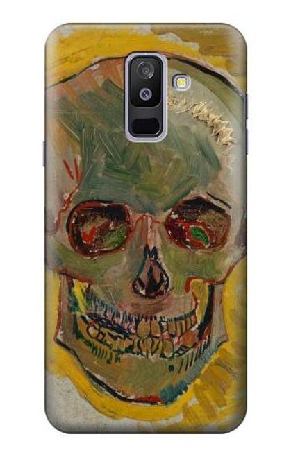 S3359 Vincent Van Gogh Skull Case For Samsung Galaxy A6+ (2018), J8 Plus 2018, A6 Plus 2018