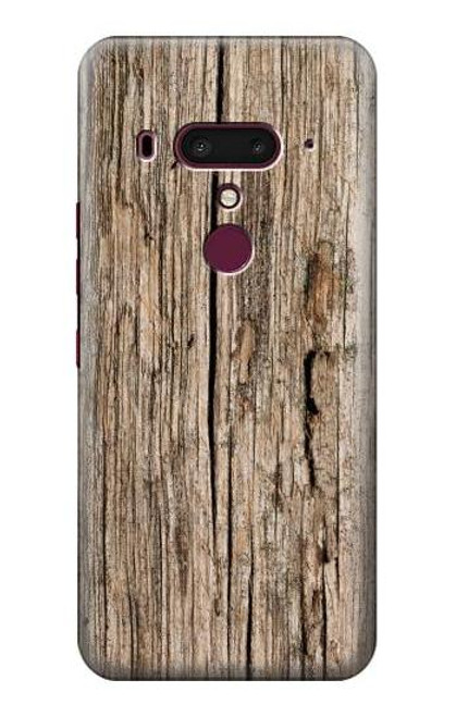 S0600 Wood Graphic Printed Case For HTC U12+, HTC U12 Plus