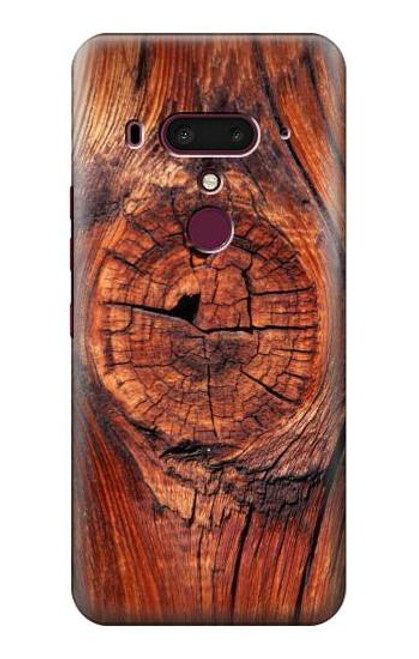 S0603 Wood Graphic Printed Case For HTC U12+, HTC U12 Plus