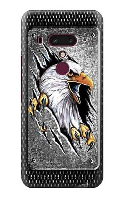S0855 Eagle Metal Case For HTC U12+, HTC U12 Plus