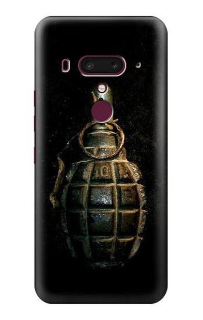 S0881 Hand Grenade Case For HTC U12+, HTC U12 Plus