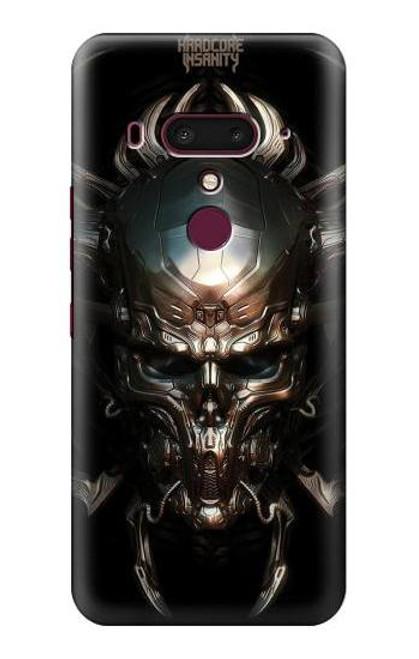 S1027 Hardcore Metal Skull Case For HTC U12+, HTC U12 Plus
