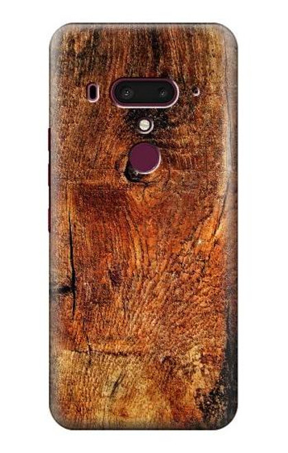 S1140 Wood Skin Graphic Case For HTC U12+, HTC U12 Plus