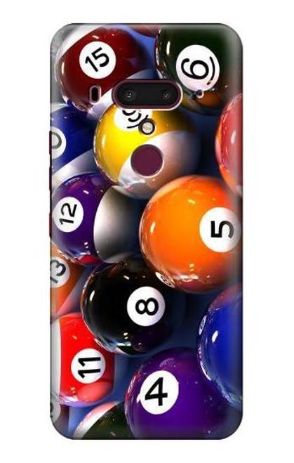 S2238 Billiard Pool Ball Case For HTC U12+, HTC U12 Plus