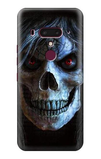 S2585 Evil Death Skull Pentagram Case For HTC U12+, HTC U12 Plus