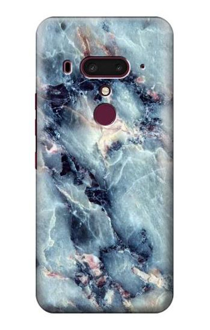 S2689 Blue Marble Texture Graphic Printed Case For HTC U12+, HTC U12 Plus