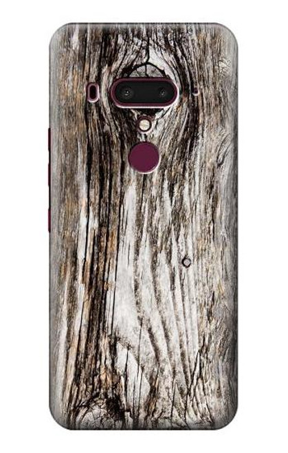 S2844 Old Wood Bark Graphic Case For HTC U12+, HTC U12 Plus