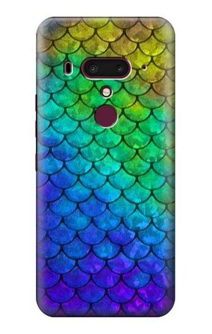 S2930 Mermaid Fish Scale Case For HTC U12+, HTC U12 Plus