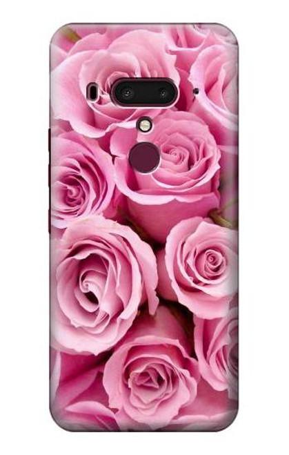 S2943 Pink Rose Case For HTC U12+, HTC U12 Plus